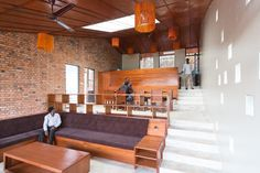 New lodgings for doctors and nurses at Rwinkwavu hospital have come about in a project by Sharon Davis Design working in partnership with Rwanda Village Enterprise.