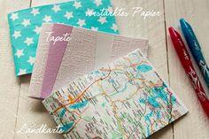 Kleine Notizhefte für alle Gelegenheiten kann man nie genug haben. Ich zeige euch in meinem DIY wie ihr selbst Notizbücher binden könnt.