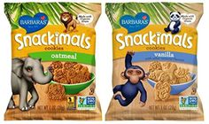 Barbaras Snackimals Animal Cookies 2 Flavor 12 Bag Variety Bundle 6 Barbaras Oatmeal Snackimals and 6 Barbaras Vanilla Snackimals 1 Oz Ea 12 Individual Serving Bags Total *** To view further for this item, visit the image link.