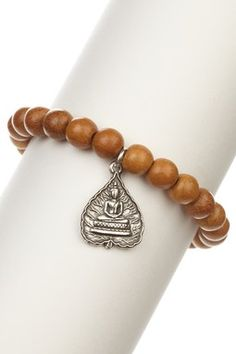 Buddha Beaded Stretch Bracelet
