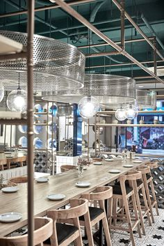 Dou Yue Restaurant designed by theSwimmingPool Studio