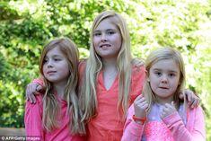 Princess Catharina-Amalia, the Princess of Orange, Princess Alexia and Princess Ariane  12/22/2014
