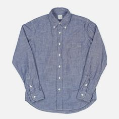 orSlow Blue Chambray (Made in Japan)