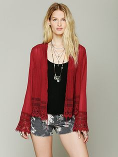 Free People FP ONE Softly Woven Jacket, 88.00