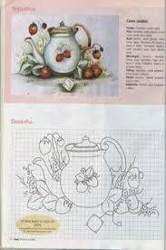 Resultado de imagem para riscos pintura tecido flores cercado