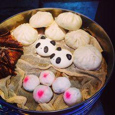 Chinesefoods: Steamed meat bun/cute/panda