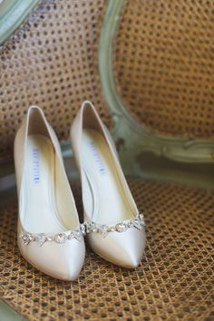 jeweled oyster heels | Dark Roux #wedding