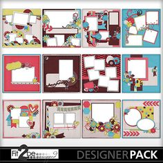 Enjoy these high quality designs by #Fit2beScrapped @MyMemoreis.com #DIgital #Creative #scrapbook #Craft #Wamk-ourstickersqps