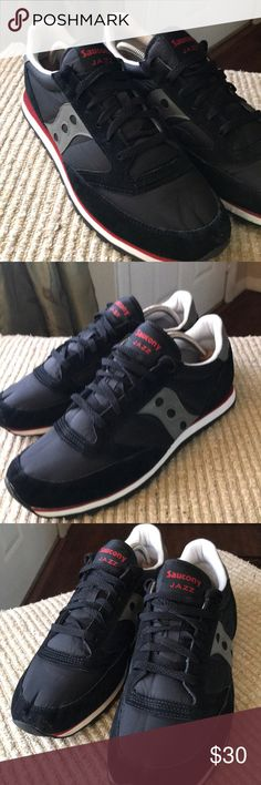 Saucony Jazz XT 800 in size 11.5 men's Men's sock any athletic running shoes in size 11 1/2. These are my shoes worn two or three times tops they're in perfect condition. Colors are black gray and burgundy and white Saucony Shoes Athletic Shoes