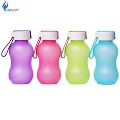 New Design 370ML Candy Color Shaker Cup Plastic Sport Bottle Drink Bottle Travel Mugs For kid Sports  Drinkware Water Cup