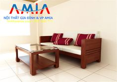 Sofa văng gỗ giá dưới 3 triệu tại Nội thất gia đình Việt AmiA Hà Nội