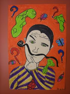 With the popularity of mustaches right now, this could be a perfect project and a way to help kids remember Dali!