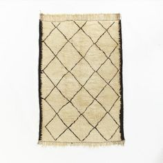 Found Moroccan Rug - Tasseled Diamond Souk | west elm