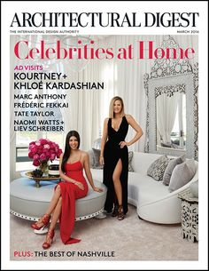 My Architectural Digest Cover - Kourtney Kardashian Official Site