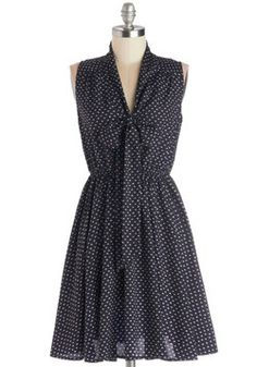 Fresh Phenom Dress, ModCloth - love the retro style, not too stiff and the bow is not too high
