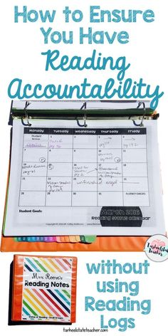 Is it possible to have accountability for students' at home reading without using reading logs? I think so and I figured out how with Status of the Class routine. Read all about why I LOVED IT! (reading logs, homework, status of class routine, back to school ideas for reading)