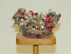 Wedding Crown  Date: 1800–1944 Culture: European