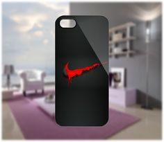 Nike Blood Case for iPhone 5/4 Samsung Galaxy S2/S3/S4 Blackberry Q/ - PDA Accessories