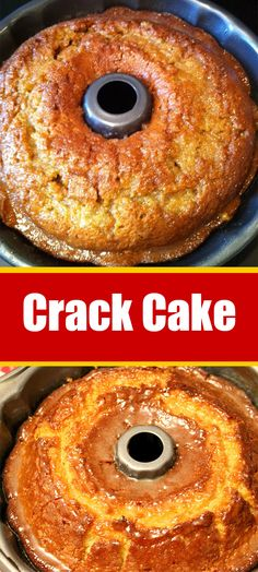 Crack Cake Recipe Don't Lose this Recipe by forgetting to hit the Save Button! Cake Mix Recipes, Pound Cake Recipes, Baking Recipes, Cookie Recipes, Dessert Recipes, Frosting Recipes, Pumpkin Recipes, Just Desserts, Delicious Desserts