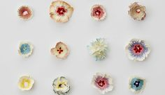Selvedge Magazine: We love the Japanese artist Haruka Misawa's simple blooming flower sculptures. Made out of pencil shavings, his strikingly pretty pieces are sure to inspire any stationery aficionados