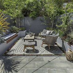 95 Small Courtyard Garden with Seating Area Design Ideas . - 95 Small Courtyard Garden with Seating Area Design Ideas Small Courtyard Gar - Modern Landscape Design, Modern Garden Design, Modern Landscaping, Patio Design, Courtyard Design, Landscape Architecture, Modern Design, Small Courtyard Gardens, Small Courtyards