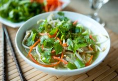 Vietnamese Chicken Noodle Soup by EclecticRecipes.com #recipe