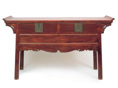 Huanghuali Two-Drawer Altar Coffer, Late Ming or Early Qing Dynasty Antique Chinese Furniture, Asian Furniture, Unique Furniture, Wooden Furniture, Furniture Decor, Furniture Design, Console Storage, Wooden Architecture, Asian Decor
