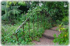 Ein altes Treppengeländer wurde integriert