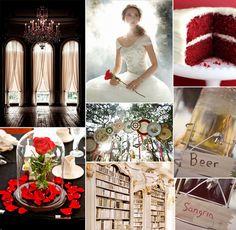Disney Princess Inspired Wedding Ideas-Belle