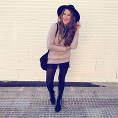 Smile   #monturquoise #outfit #style #fashion #look #blogger #streetstyle #picoftheday #outfitoftheday #bershka #buckle #boots #hat #bohochic #pullover #oversize #knitted #lace #skirt #zara #scarf #silk #smile