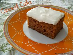 Carrot Cake with Greek Yoghurt Frosting - the lighter way of frosting your cakes and cupcakes