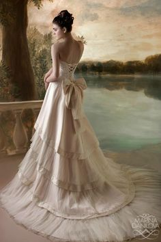[I must admit, it's a cute gown.]