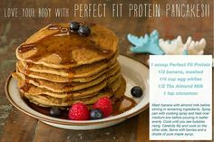 Perfect Fit Protein Pancakes
