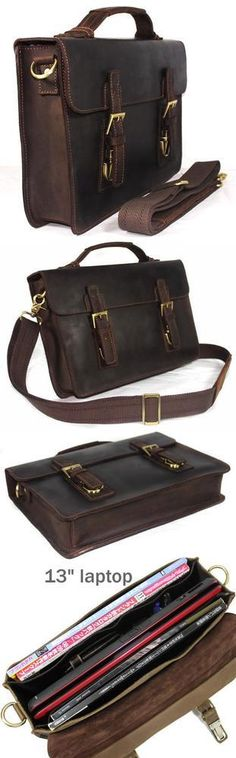 "Nice Vintage Leather Briefcase, but I need something that will fit a 15"" MacBook Pro"