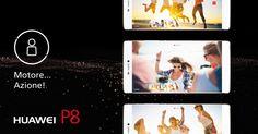 Libera il regista che è in te, controlla fino a tre telefoni Android per filmati d'autore con :-) #HuaweiP8. #ad