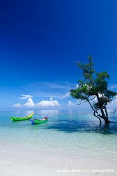 Pasir putih - Lhok Mee (white sand beaches ) Aceh Besar -Indonesia