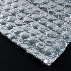 BURBUJA ALUMINIO PURO 2 CARAS La burbuja de aluminio de dos caras es un materal flexible que sirve como aislante que reflecta el calor, impermeabilizante o aislamiento acústico aunque también puede utilizarse como embalaje. #MWMaterialsWorld #aislantetérmico #thermalinsulation