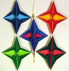 How to Fold an Origami Star of Bethlehem