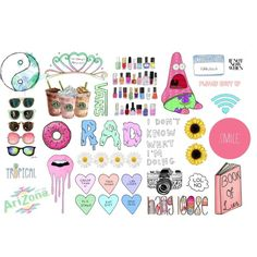Tumblr Transparent Collage 2 by esteehearts on Polyvore featuring art, tumblr and transparents