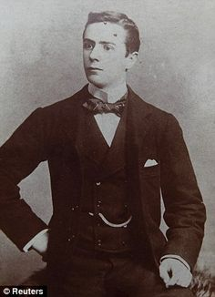 George Mackie, who died on Titanic. He was a second class steward.                                                                                                                                                                                 More