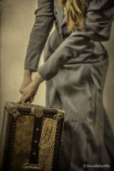 London-Paris: Immediate Embarking - By David & Myrtille [dpcom. Orient Express, Vintage Luggage, Vintage Travel, Vintage Suitcases, Pack Your Bags, Out Of Africa, Neo Victorian, Edwardian Era, Gothic