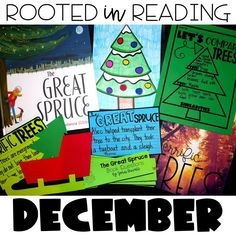 Rooted in Reading December Book:  The Great Spruce activities for your classroom