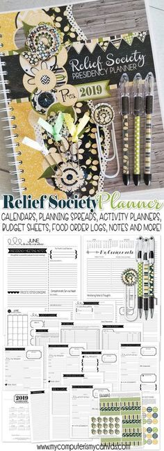 October 2018 Editable Newsletter Template and Relief Society Lesson