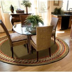 Best Rugs Images On Pinterest Circular Rugs Round Area Rugs - Round carpet under round table