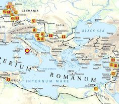 40 maps that explain the Roman Empire - Vox. How the Emperor Augustus tamed the Roman Legions. Ancient Rome, Ancient History, Pax Romana, Bible Mapping, Roman Britain, Roman Legion, Roman History, Historical Maps, Emperor Augustus