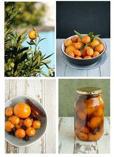 Oranges Preserved in Brandy