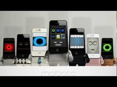 MOBOTO - Kickstarter.com Video sweet iPhone Robot Dock