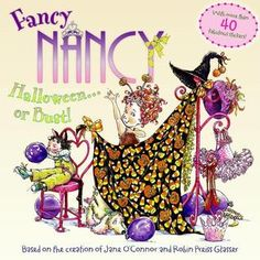 Why is Halloween Fancy Nancy's favorite holiday? Nancy puts her own special spin on creating the perfect costume, playing party games and teaching young readers some fancy new words. Kids even get to… Fancy W, Fancy Nancy, New Halloween Costumes, Halloween Books, Halloween Tricks, Halloween Activities, Spooky Halloween, Halloween Ideas, It's The Great Pumpkin