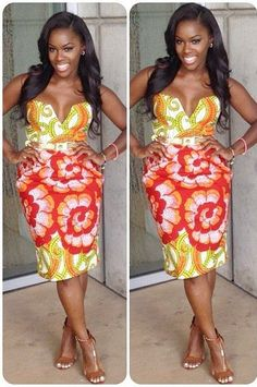 African Dresses Ankara Gown Design