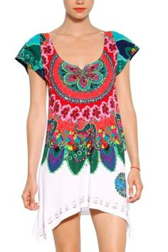 Desigual T-Shirt Sandalo | Fun Fashion Online Boutique | Canada | USFun Fashion Online Boutique